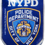 NYPD Blue Memo Clip Magnet