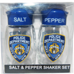 NYPD Clear S&P Shaker Set