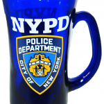 NYPD Cobalt Blue/ Shield Beer Mug