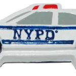 NYPD Police Car Poly Magnet