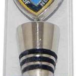 NYPD Blue Shield Packaged Wine Stopper