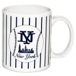 NYC Baseball Pinstripe 11oz Mug