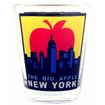 The Big Apple Shot Glass