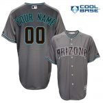 Arizona Diamondbacks Replica Personalized Charcoal Alt Jersey