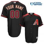 Arizona Diamondbacks Replica Personalized Black Alt Jersey