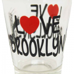 Love Brooklyn/ Bridge Clear Shotglass