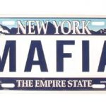 Mafia NY License Plate