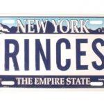 Princess License Plate