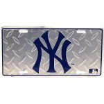 Yankees Diamond License Plate