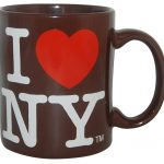 I Love NY Brown 11oz Mug
