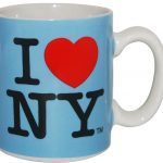 I Love NY Mini Mug – Blue