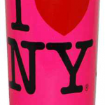 I Love NY Hot Pink Shooter