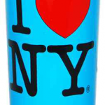I Love NY Neon Blue Shooter