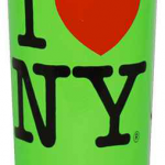 I Love NY Neon Green Shooter