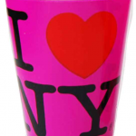 I Love NY Neon Pink Shot Glass