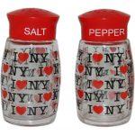 "I Love NY ""Repeat"" Salt & Pepper Shakers"