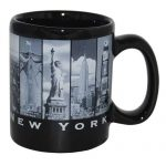 Black & White 9 Windows 4oz Mini Mug