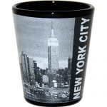 New York City Skyline Photo Shot Glass