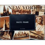 NYC Sepia Photos 4×6 Picture Frame