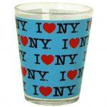 I Love NY Repeat Blue Shotglass