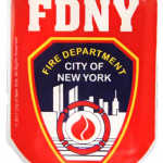 FDNY Red Memo Clip Magnet