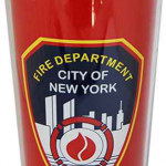 FDNY Red Steel Travel Mug