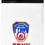 FDNY White/ Logo Kitchen Towel