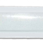 FDNY White Glass Nail File with Logo