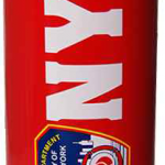 FDNY Red Water Bottle with Logo