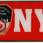 FDNY Red Bottle Opener Magnet