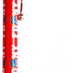 FDNY Red/ Shield Dangle Double Sided Pen