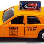 NYC Taxi Cab 5″ Pullback Toy Car