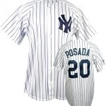 Yankees Replica Jorge Posada Youth Home Jersey