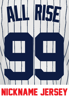 info for 11a7e 45c37 All Rise Youth Jersey – Aaron Judge Yankees Kids Nickname ...