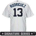 Alex Rodriguez Signature Series Jersey – NY Yankees Replica Adult Home Jersey