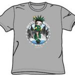 Betty Boop Liberty Gray Kids T-Shirt