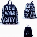 Robin-Ruth NY Black/White Backpack