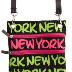 Robin-Ruth NY Neon Green Neck Wallet
