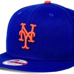 New York Mets Blue Adjustable Sure-Shot Snapback