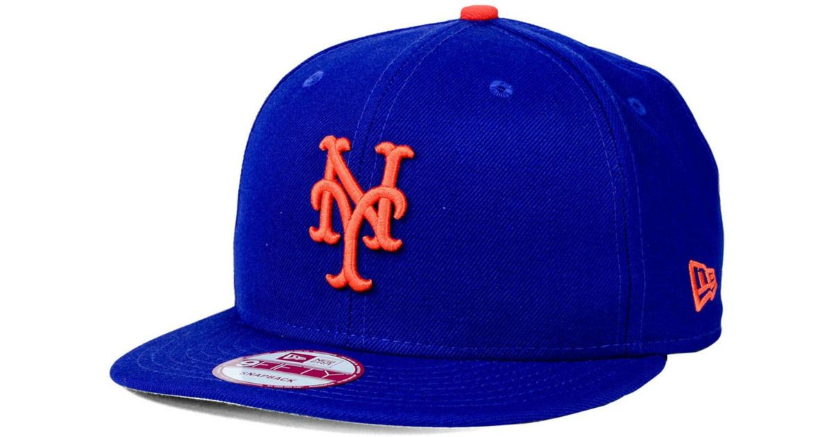 hot product where to buy reasonable price New York Mets Blue Adjustable Sure-Shot Snapback | NYC Souvenirs ...