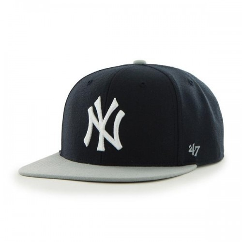 new product classic sneakers New York Yankees Navy & Gray Adjustable Sure-Shot Snapback | NYC ...