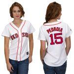 Dustin Pedroia Boston Red Sox Ladies Replica Jersey