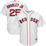 Jackie Bradley Jr Youth Jersey – Boston Red Sox Replica Kids Home Jersey