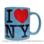 I Love NY Lt. Blue 11oz Mug