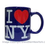 I Love NY Royal Blue 11oz. Mug