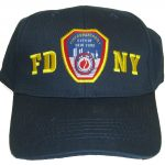 FDNY Patch Navy Adjustable Cap