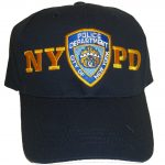 NYPD Patch Navy Adjustable Cap