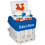 NY Mets Personalized 3-Piece Gift Basket