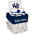 NY Yankees Personalized 3-Piece Gift Basket