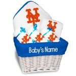 NY Mets Personalized 6-Piece Gift Basket